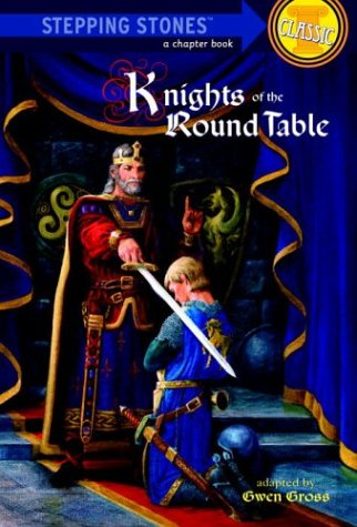 Knights of the Round Table (A Stepping Stone Book) [Large Print]