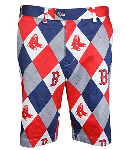 Loudmouth Golf- Boston Red Sox Mens Shorts