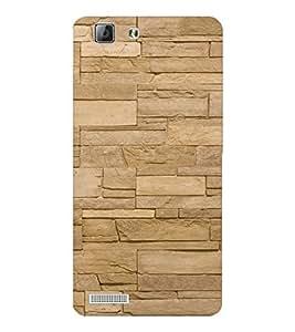 EPICCASE cream brick wall Mobile Back Case Cover For LENOVO A6600 (Designer Case)