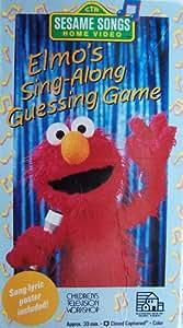 Amazon Com Sesame Street Elmo Sing Along Guessing Game