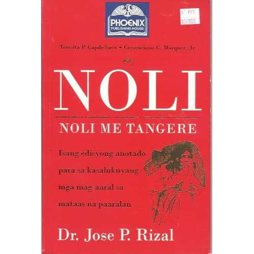 english script for noli me tangere Rizal's noli is replete with the same satirical jabs aimed at the corruption of the  noli me tangere,  but i was dependent on the projected english.