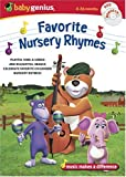 Baby Genius Favorite  Nursery Rhymes w/bonus Music CD