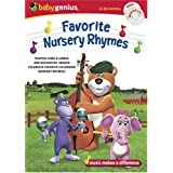 Baby Genius Favorite Nursery Rhymes w/bonus Music CDby Artist Not Provided