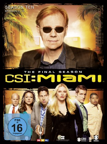 CSI: Miami - Season 10.1 [Limited Edition] [3 DVDs]