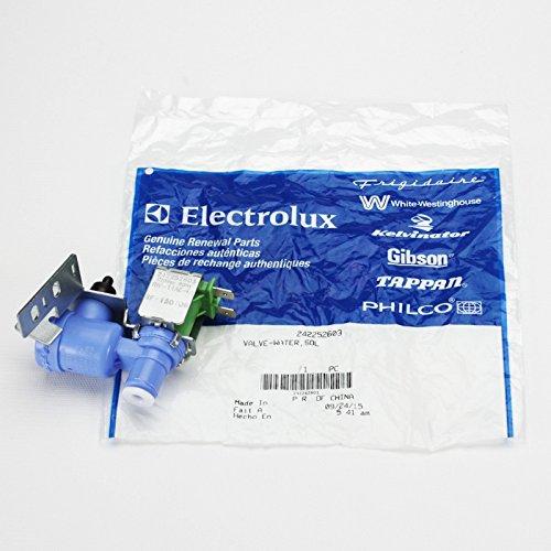 Genuine OEM 242252603 Frigidaire Refrigerator Icemaker Water Valve   241803701 (Ice Maker Troubleshooting compare prices)
