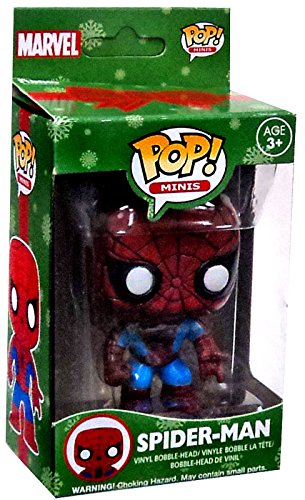 Funko Batman DC Super Heroes POP! Minis 2.5 Inch Vinyl Bobble Head Mini Figure Spider-Man - 1