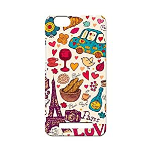BLUEDIO Designer Printed Back case cover for Lenovo Vibe C ( A2020) - G5059