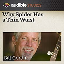 Why Spider Has a Thin Waist: A West African Folktale  by Bill Gordh Narrated by Bill Gordh
