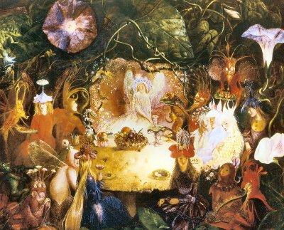 The Fairies Banquet John Anster Fitzgerald 1859 - Quality A4 Print