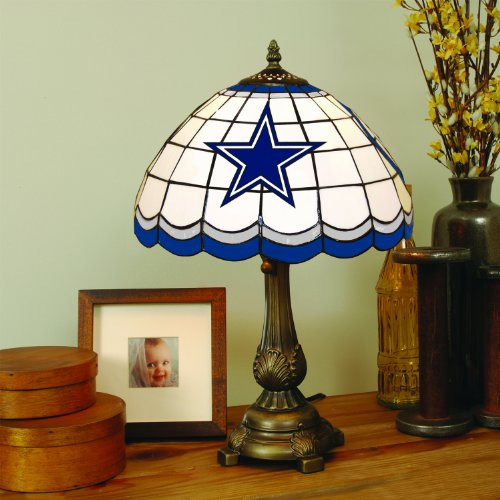 NFL Dallas Cowboys Tiffany Table Lamp at Amazon.com
