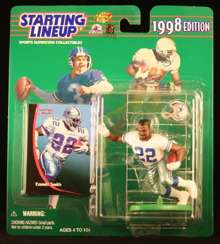 1998 Emmitt Smith NFL Starting Lineup Figure