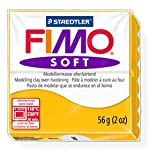 Staedtler Fimo Soft Sun Flower (16) Oven Bake Modelling Clay Moulding Polymer Block Colour 56g (1 Pack)