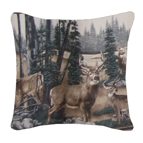 Whitetail Dreams Square Pillow