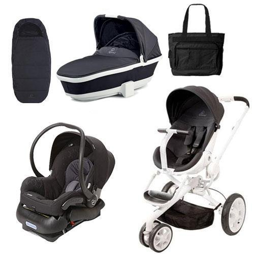 Quinny Cv078Bik Moodd Stroller Complete Collection In Black Irony front-957621