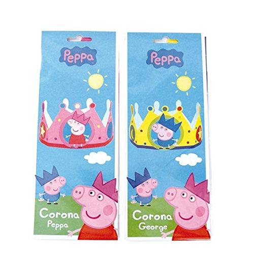 Peppa Pig - Corona Peppa / George (1 unidad)