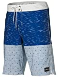 O'Neill Men's PM Epic Freak Juniper Fixed Waistband Board Short - Blue AOP, Size 34 EU
