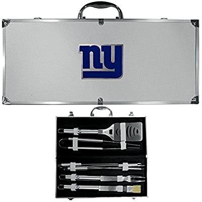 New York Giants Nfl 8pc Bbq Tools Set