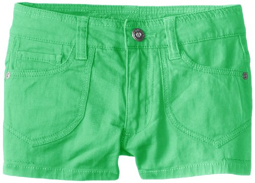 Freestyle Revolution Big Girls' Olivia Colored Shorts, Summer Green, 7 front-929449