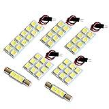 【断トツ156発!!】 VAG WRX S4 LED ルームランプ 7点セット [H26.8~] スバル 基板タイプ 圧倒的な発光数 3chip SMD LED 仕様 室内灯 カー用品 HJO