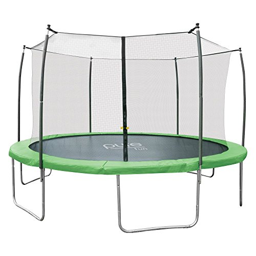 Pure-Fun-Dura-Bounce-14-Foot-Outdoor-Trampoline-with-Enclosure