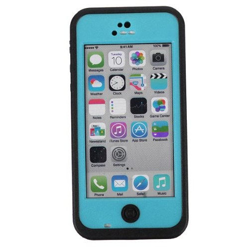 Dfunlife Underwater Snow Dirt Water Proof Hard Outdoor Case For Iphone 5C