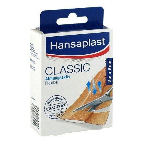 Hansaplast Classic Pflaster 2mx6cm 1 stk