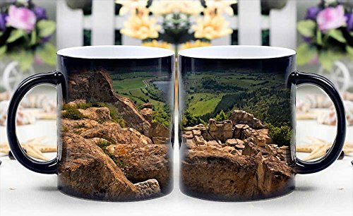 iRocket Magic Mug - Heat Sensitive Color Changing Coffee Cup - View Fom Perperikon Magically Appear- Best Creative Gift Choice (Fom Coffee Cups compare prices)