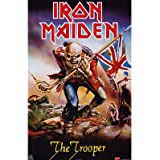 """1 X Iron Maiden - Music Poster (Trooper) (Size: 24"""" x 36"""")"""