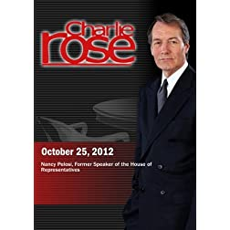 Charlie Rose - Nancy Pelosi (October 25, 2012)