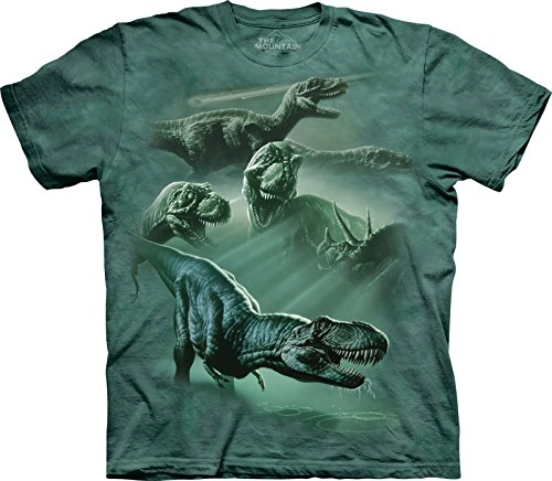 The-Mountain-Enfant-Composition-Dinosaures-T-Shirt