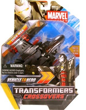 Marvel Transformers Crossovers - Iron Man (black) (Transformers Marvel Crossovers compare prices)