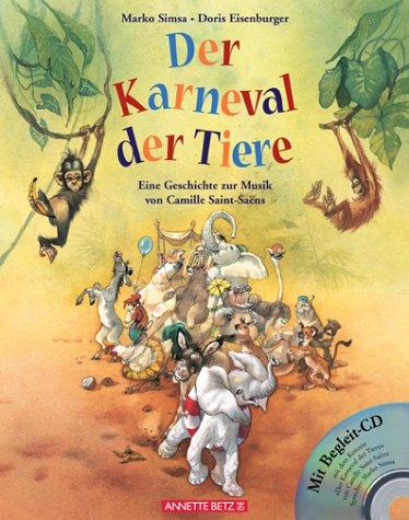 Der karneval der tiere mit cd