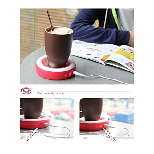 Read About Coffee Tea Cup Warmer by Just Solutions - Blue