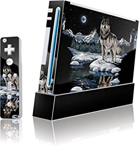 Buy Liquid Blue - Winter Night Wolf - Wii (Includes 1 Controller) - Skinit Skin by Skinit