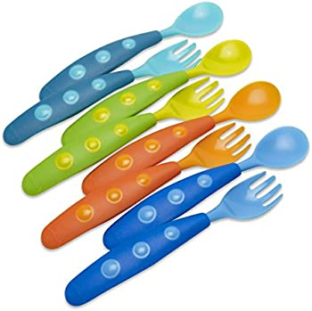 8 Pc Set Gerber Graduates Fun Pack Utensils