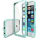 "iPhone 6 Case - Ringke FUSION iPhone 6 Case 4.7 "" **NEW** [Dust Cap/Drop Protection][MINT] Premium Crystal Clear Back Shock Absorption Bumper Hybrid Hard Case for Apple iPhone 6 4.7 Inch - Eco/DIY Package"