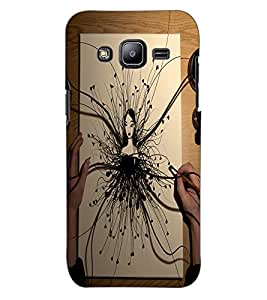ColourCraft Creative Art Design Back Case Cover for SAMSUNG GALAXY J2 J200G