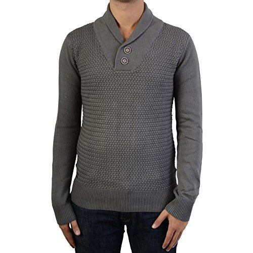 Deeluxe -  Maglione  - Uomo grigio XL