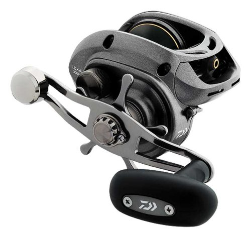 Daiwa Lexa High Capacity Low-Profile Baitcast Reel – Sturdy and reliable