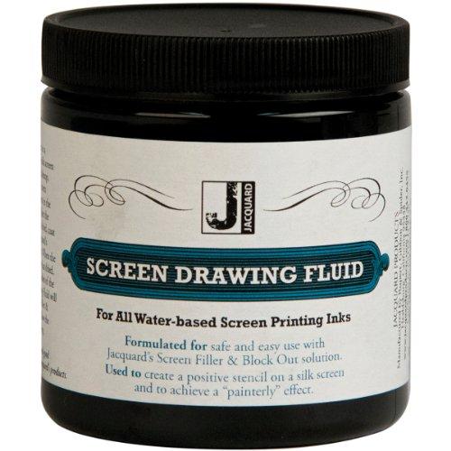 Jacquard Screen Printing Drawing Fluid 8 Ounces 2 Pack