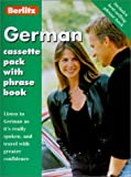 German Cassette Pack with Book(s) (Berlitz Cassette Packs)