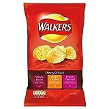 Walkers Crisps - Meaty Variety (6x25g)