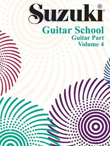 Suzuki Guitar School, Vol 4: Guitar Part: Volume 4