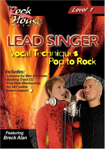 Breck Alan, Lead Singer Vocal Techniques Pop to Rock Level 1