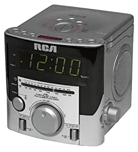 rca rp3753 cd clock radio with dual alarm discontinued by manufacturer electronics. Black Bedroom Furniture Sets. Home Design Ideas