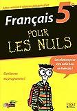 FRANCAIS 5E POUR LES NULS
