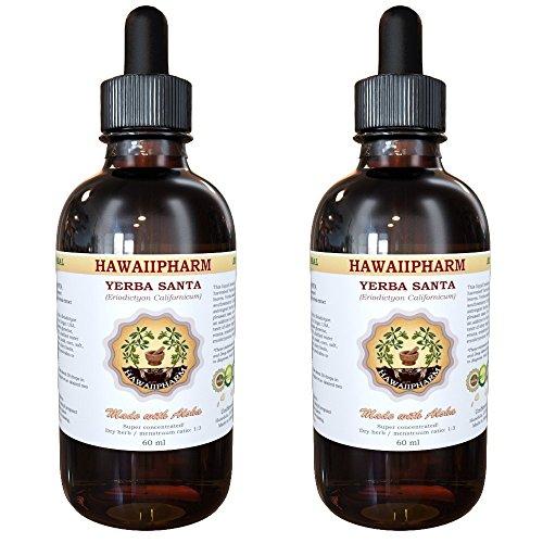 Yerba Santa Liquid Extract, Yerba Santa (Eriodictyon Californicum) Tincture Supplement 2x2 oz (Yerba Santa Extract compare prices)