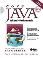 Core Java 2, Volume I by Horstmann