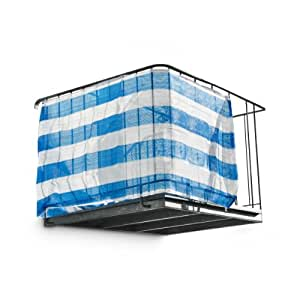 Relaxdays balcony privacy screen screening for Balcony covers for privacy