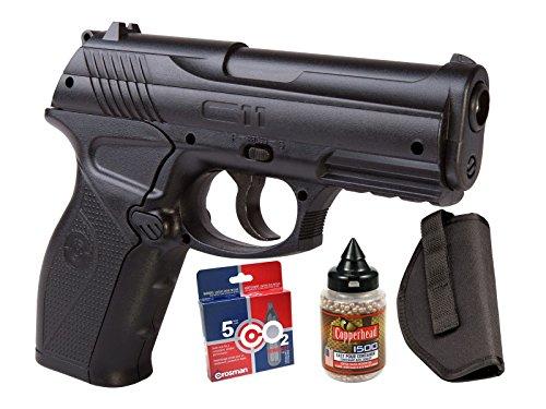Crosman C11 Semi-Auto Air Pistol CO2 BB Kit air pistol (Crosman Semi Auto Air Pistol compare prices)